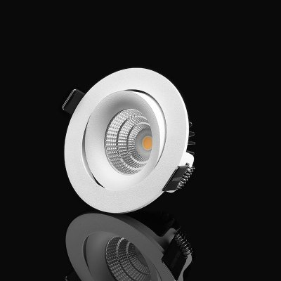 Designlight LED 7W IP21 3000K riktbar