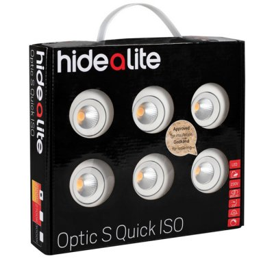 Hide-A-Lite Optic S Quick ISO 6-pack