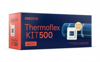 Ebeco Thermoflex 500 Kit, komplett med termostat EB-Therm 500